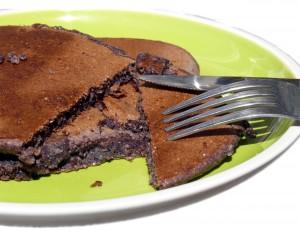 American Pancakes mit Aroniapulver